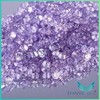 1.5mm centerpieces crystal diamond stone lavender color round shape diamond cut crystal