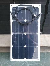 25w 12v light-weight mini flexible solar panel (CE/TUV/ISO approved)
