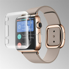 Transparent Crystal Protective Cover Case for Apple Watch accessory 38/42mm