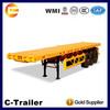 40ft three axle flatbed semitrailer on sale