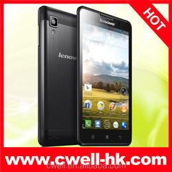 "Lenovo P780 Original Cell Phones Android MTK6589 Quad Core 5"" 1280x720 Gorilla Glass Screen 1GB RAM 4GB rom mobile phone"