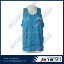 custom Men's mesh basketball top,tank top,vest,singlet