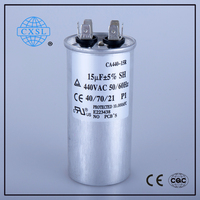 Electrical AC Motor Run and Start Capacitor