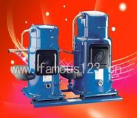 danfoss tandem type compressor SZ242,danfoss refrigerator compressor, danfoss hermitic scroll compressor