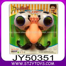 Niños promocionales festival de fiesta y juguetes de plástico de juguete gafas hilarante