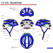 lightness Double Use bicycle Helmet red with green Cyling Helemt CY-102