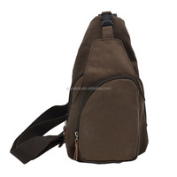 Canvas messenger cross body shoulder bag