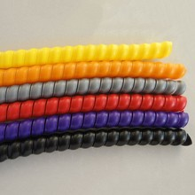 nylon Spiral sleeve/plastic protection sleeve/hose protection products