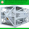 ISO tank for liquid oxygen / nitrogen / argon gas