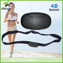 Fitness product bluetooth heart rate monitor with chest strap