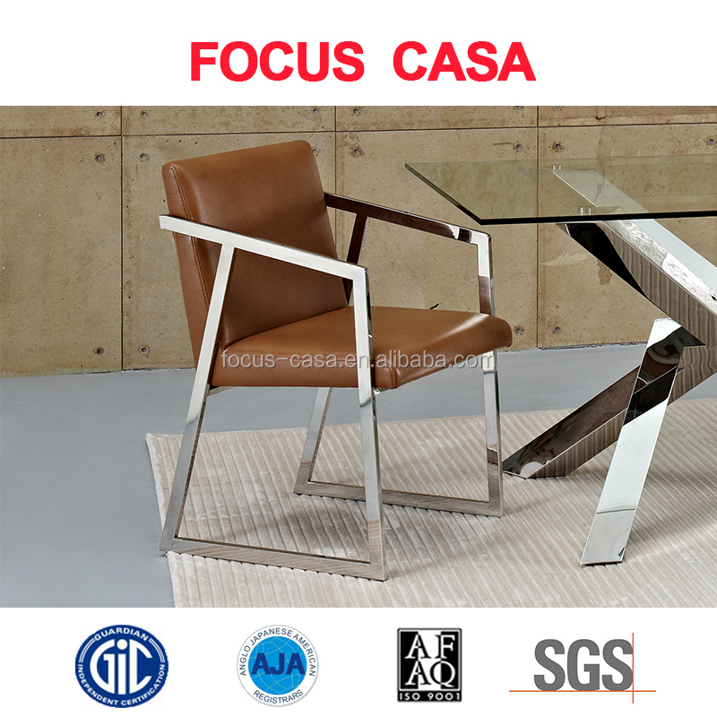 dining chairs modern design modern design dining room dining chair with stainless steel base buy buy dining room
