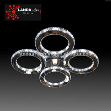 Ring Crystal Led Ceiling Lamp