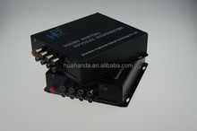 Net link 8 channel Fiber optic video digital converter rs232 to rs485 interface converter