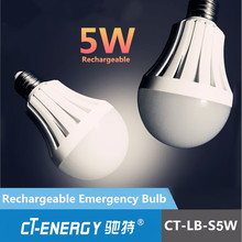 High brightness 5w rechargeable led home emergency light