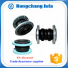 heat resistant double sphere galvanized flexible pipe rubber joint