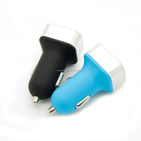2015 new product Promotion!dual port usb car charger adapter
