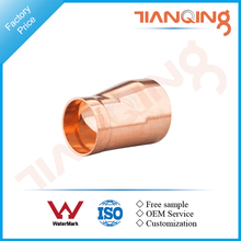 T509 Factory price large size pipe fitting copper eccentric reducer