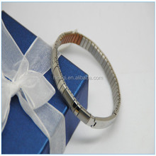 2015 New Arrival charming Wholesale high quality Stainless Steel Elastic Bracelet