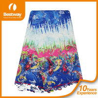 2015 Embroidered Water Soluble Chemical African Cupion Guipure Lace Fabric/African Lace Fabrics/Guipure lace CP0054