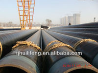 3LPE coated API 5L insulation steel pipe