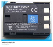 li-ion digital camera battery nb-2l Camera Battery for CANON NB-2LH NB-2L BP-2L5 for EOS 350D battery pack for Canon nb-2l