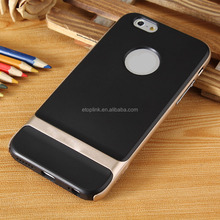 Shockproof Hybrid bumper metal frame case for iphone 6 at factory price