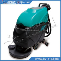 CE approved electric hand held Floor Scrubber