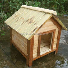 100% KD bamboo dog house outdoor