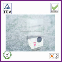 clear plastic boxes with dividers/plastic box with sliding lid