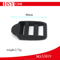 Cheap plastic adjustable strap slide buckle for backpack