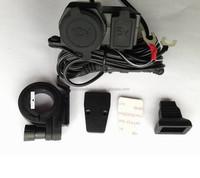Waterproof Motorcycle 12V USB outlet socket USB Charger
