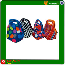 Promotion lunch tote neoprene cooler bags insulated cooler bag