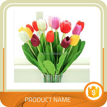 Wholesale Artificial PU Tulip Flower Bouquet Real Touch For Holiday Parties Flowers