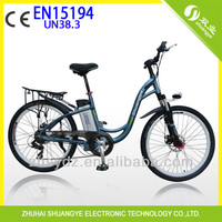 2014 new design 36V 26' adult cheap electric motorcycle C1