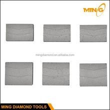 Grooved / Sandwich Diamond Cutting Segment Granite Stone Cutting Segment