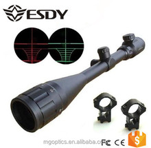 Tactical 6-24x50 AOE Red & Green Illuminated Dot Riflescope Sight Scope