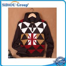 Wholesale 100 acrylic Men Polo Sweater