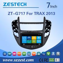 Zestech In dash car dvd for Chevrolet TRAX 2013 car dvd player with gps navigation ATV BT am/fm