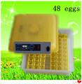 incubadoras de ovos para incubação barata automático para a venda com CE aprovou em estoque EW-48