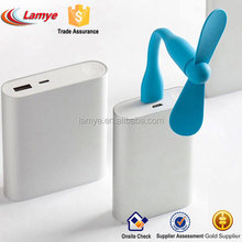 Wholesale Cheap plastic small mini usb fan for power bank