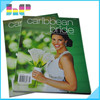cheap printing monthly/quarterly fashion magazine printing service