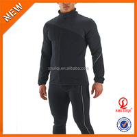 Custom 100% cotton plain tracksuit, anti-Static gym men winter tracksuit wholesale
