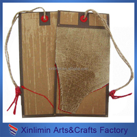 cheap custom paper clothes hang tags