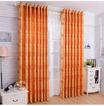 home textile jacquard curtain fabric, ready made jacquard curtain