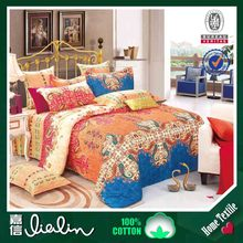 European and American popular 100% Cotton Jacqyard Fabric, Bedding Set,bed sheet designs from China suppliers