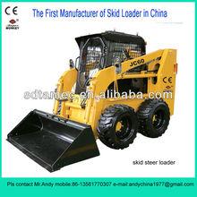 skid loader,bobat,skid steer loader with 60hp engine,loading capacity is 850kg