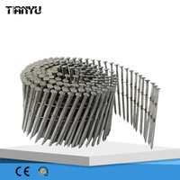 2015 good quality 15 Degree Galvanize Roofing collated Coil Nail, coil nail gun
