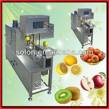 High efficiency orange apple peeler/fruit processing machine