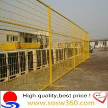 Supply high quality canada temporary fence
