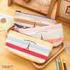 Creative Rainbow Tower Cartoon Zipper Pencil Cases Stationery Pouch